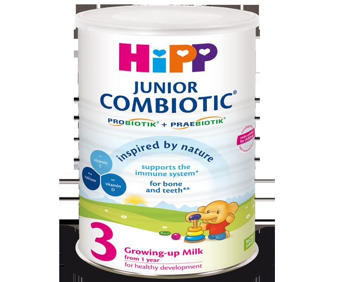 Sữa bột HiPP Combiotic số 3 (800g)