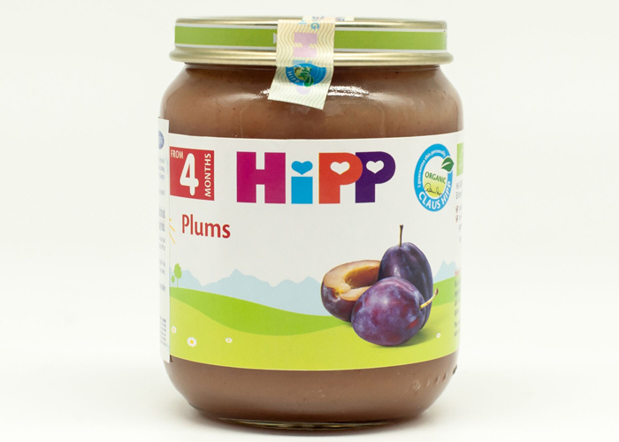 Dinh dưỡng đóng lọ HiPP mận tây (125g)