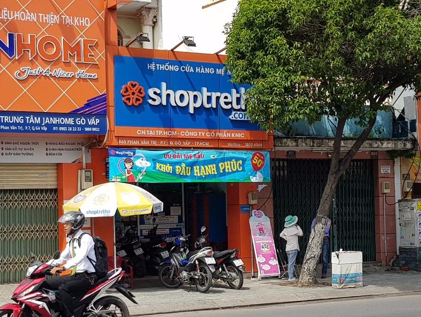 Cửa hàng Shop Trẻ Thơ số 865 Phan Van Trị