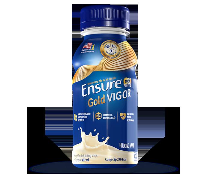 Sữa Ensure Gold Vigor nước chai 237ml
