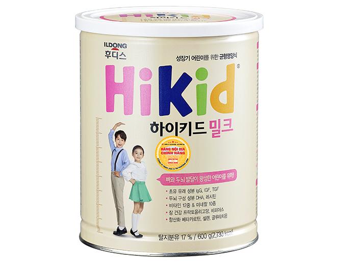 Sữa Hikid - Hàn Quốc (600g)