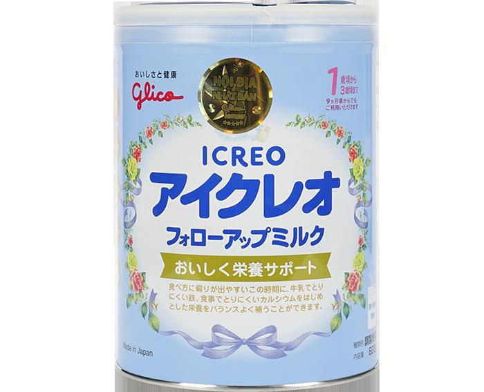 Sản phẩm Icreo Glico - nhập khẩu từ Nhật Bản