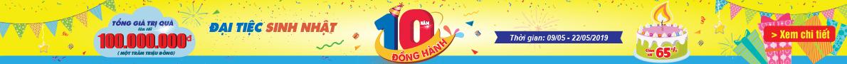 Đại tiệc sinh nhật Shop Trẻ Thơ 10 năm