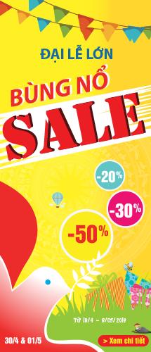 Đại Lễ lớn - Bùng nổ Sale