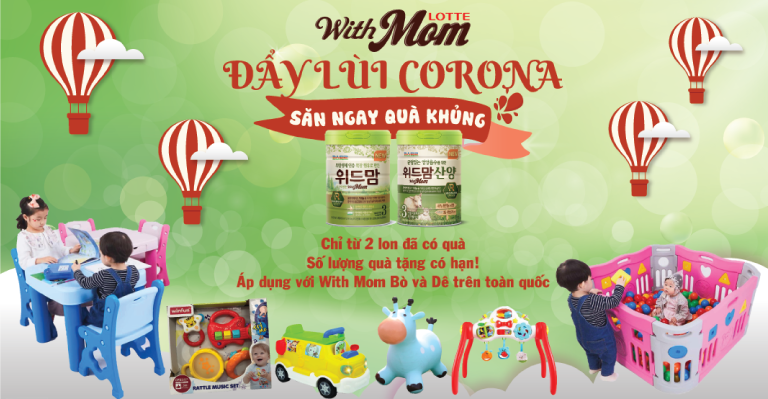 Khuyến mại sữa With Mom