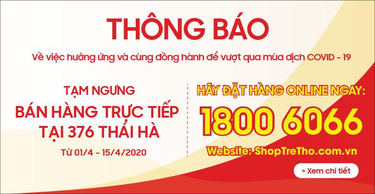 Thông báo tạm đóng Thái Hà