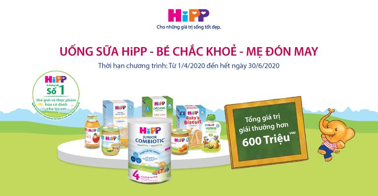 Khuyến mại sữa HiPP