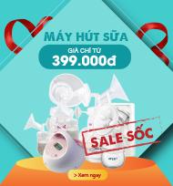 Máy hút sữa giá chỉ từ 399.000
