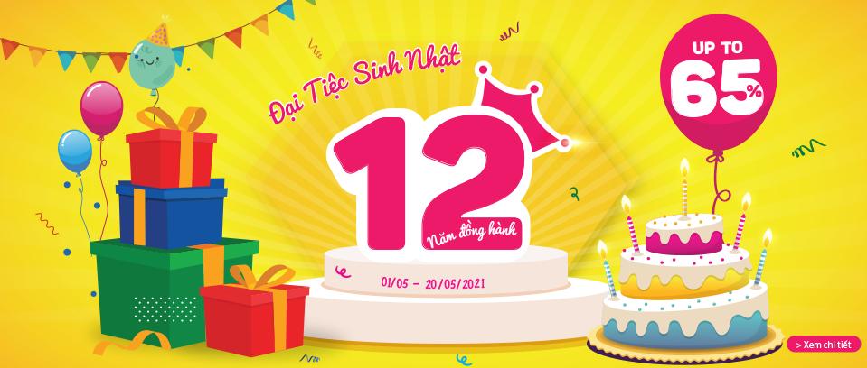 Đại tiệc sinh nhật STT - 12 năm đồng hành