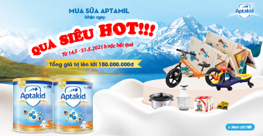 Mua sữa Aptamil - Qùa siêu hot