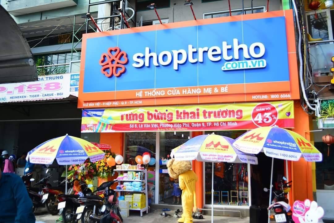 ShopTreTho 06 Lê Văn Việt, P.Hiệp Phú, Q.9, Tp.Hồ Chí Minh