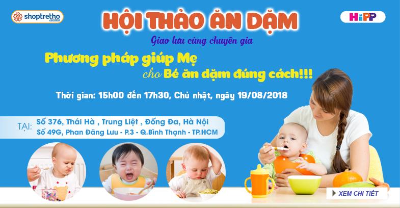 Các chương trình khuyến mãi tại Shoptretho ngày 12/08/2018