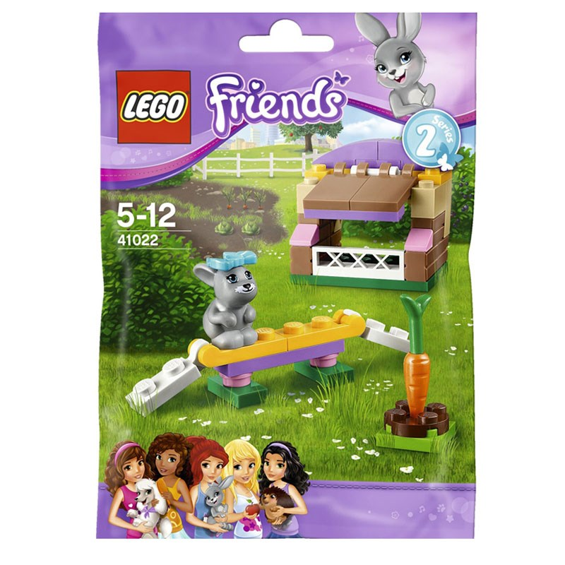 Do choi LEGO Friends 41022 xep hinh Bunny's Hutch