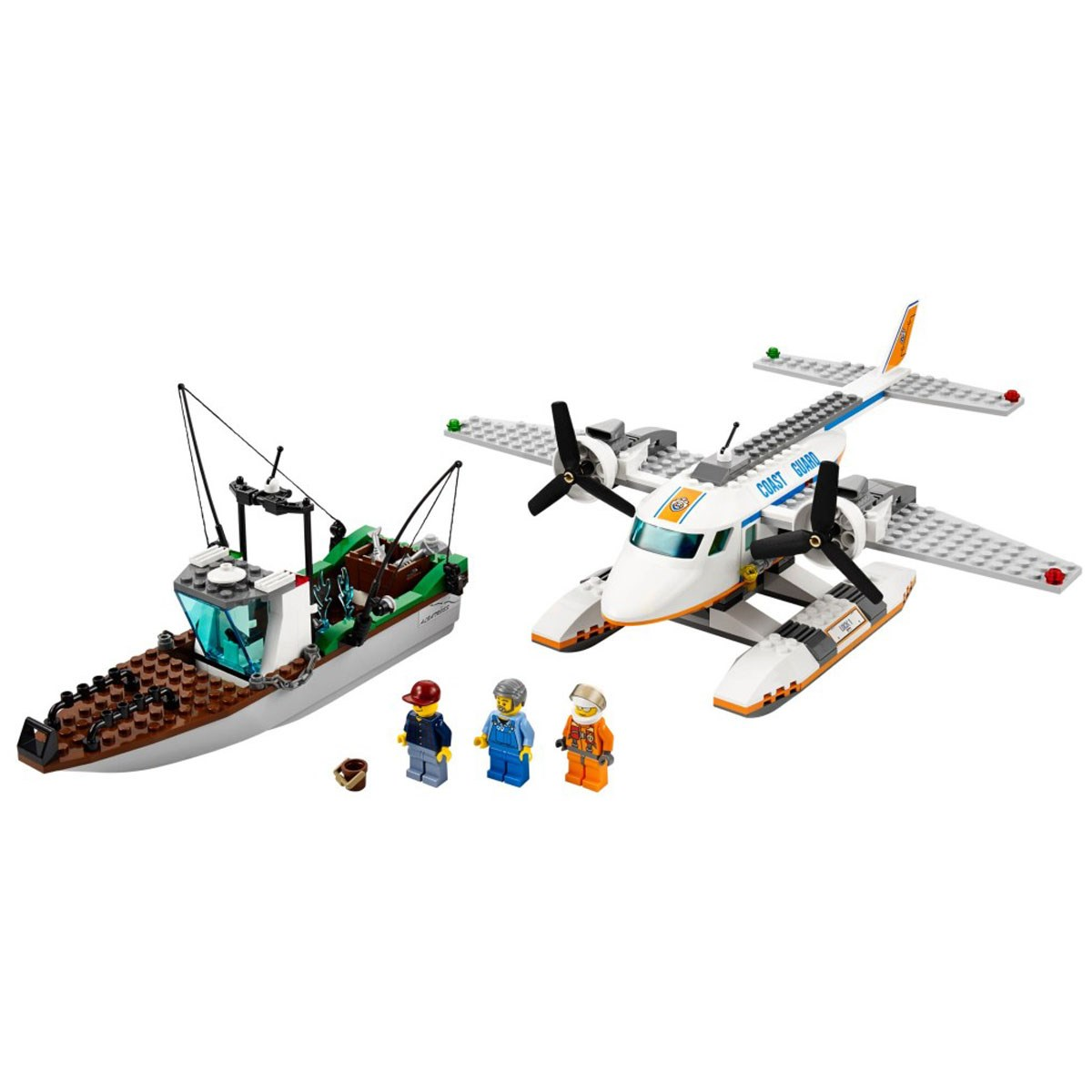 Do choi LEGO 60015 - Xep hinh may bay cuu ho