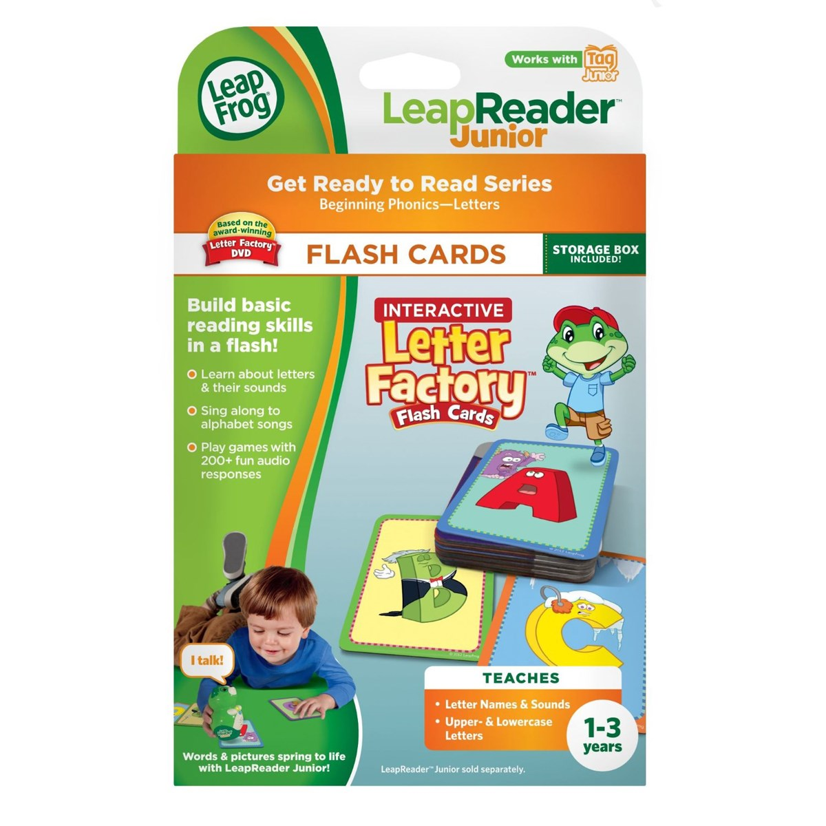 Do choi LeapFrog 21209 – Bo flash card hoc chu thong minh cho be