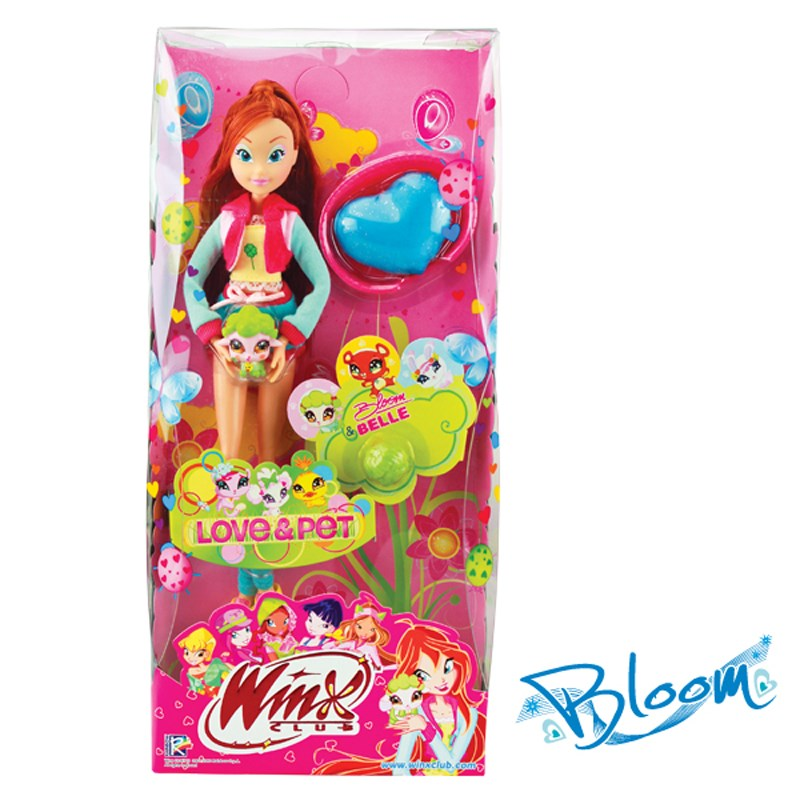 Do choi bup be Winx IW01030900 - Winx va thu cung
