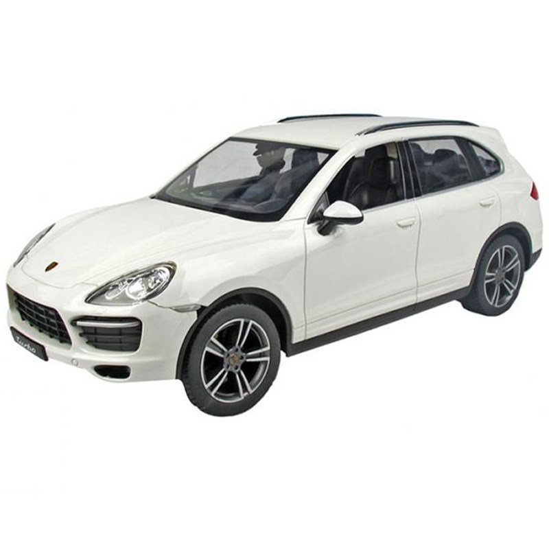 Do choi o to dieu khien Porsche Cayenne Turbo - Rastar 46100