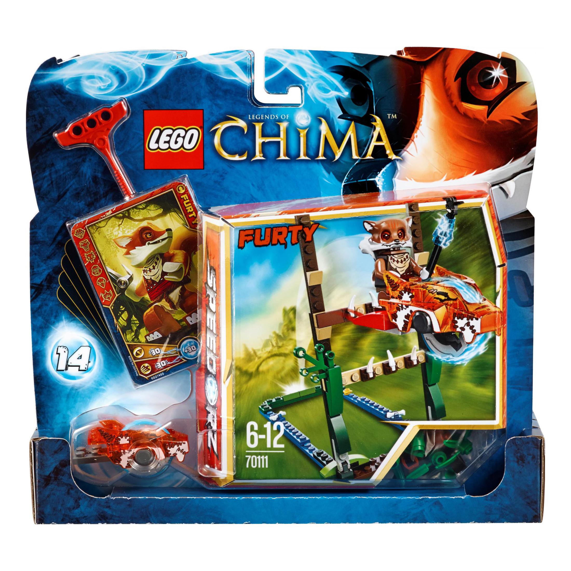 Đồ chơi xếp hình LEGO Chima 70111 - Vượt đầm lầy