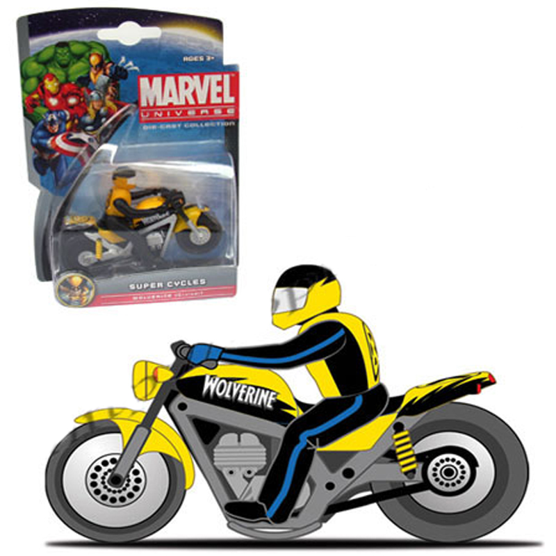 Xe moto Anh hùng Marvel -Wolverine-Cruiser 25017