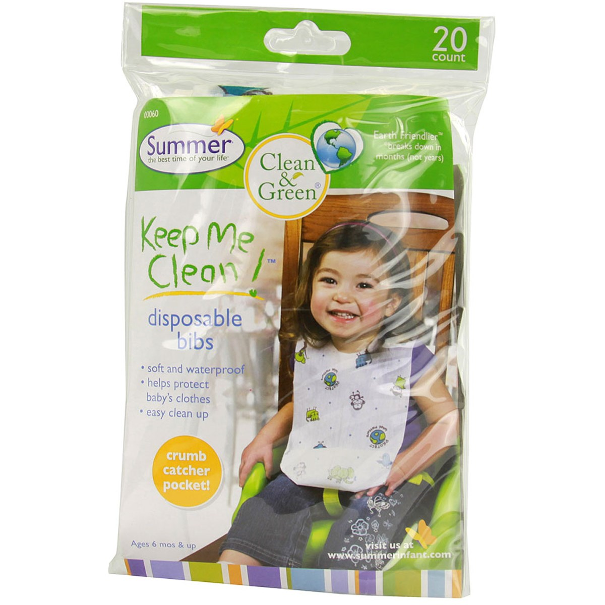 Yem du lich (20c) 20ct - Clean & Green Bibs SM00060