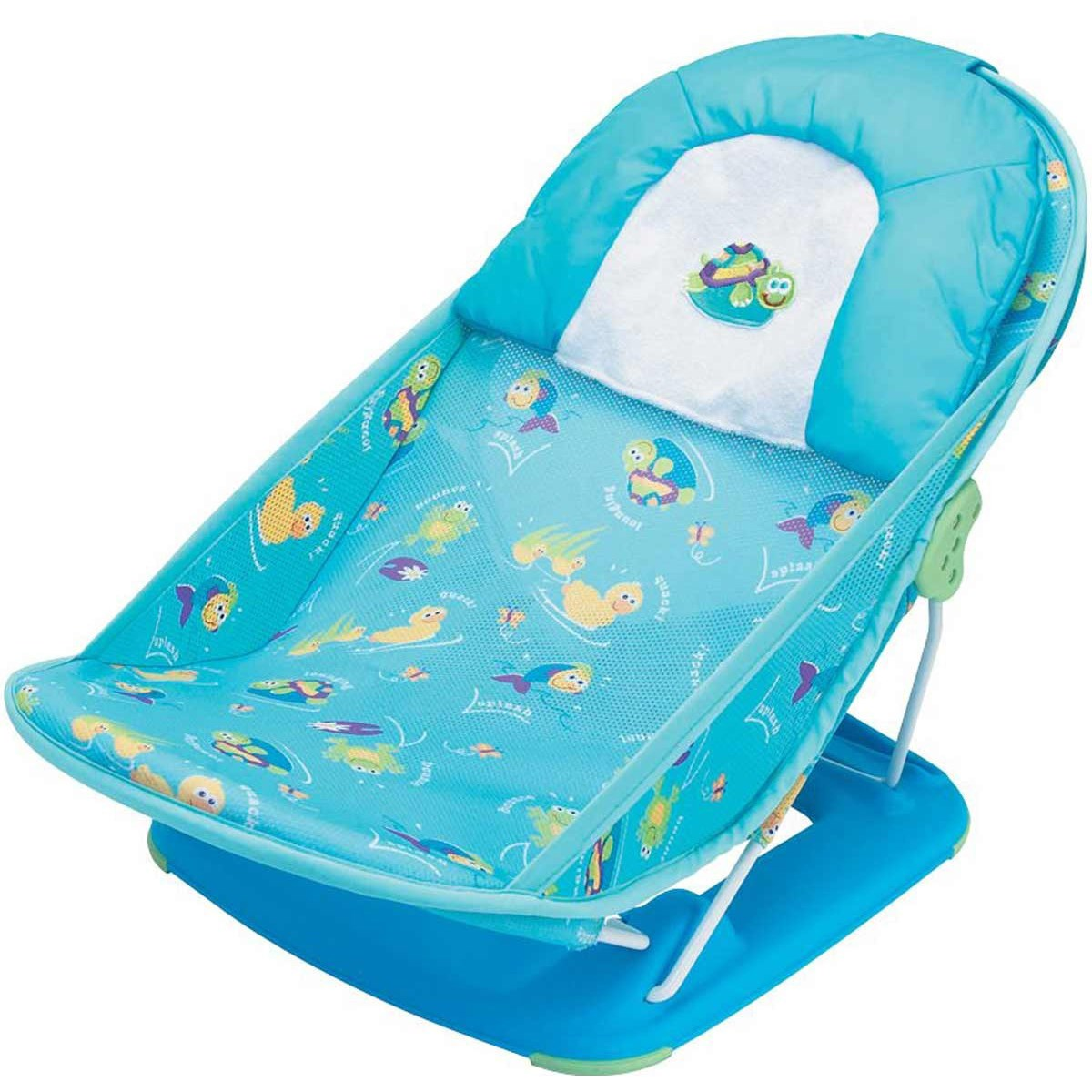 Ghế tắm nằm (xanh) Summer 18500 - Mother's Touch Deluxe Baby Bather