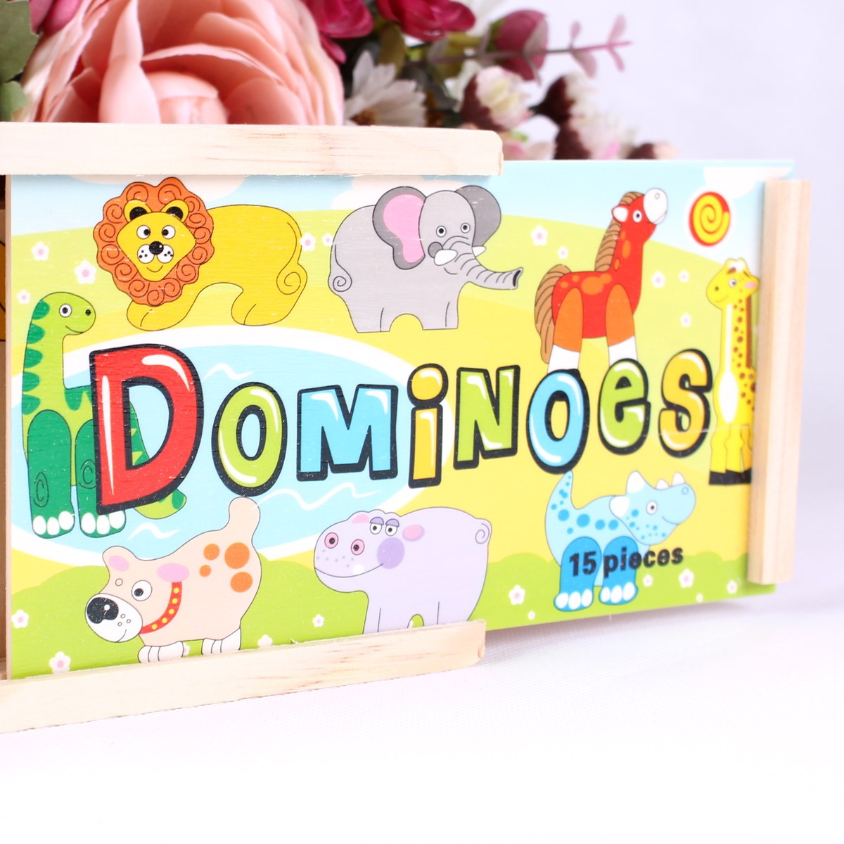 Do choi go Toptoys - Domino thu rung 93425