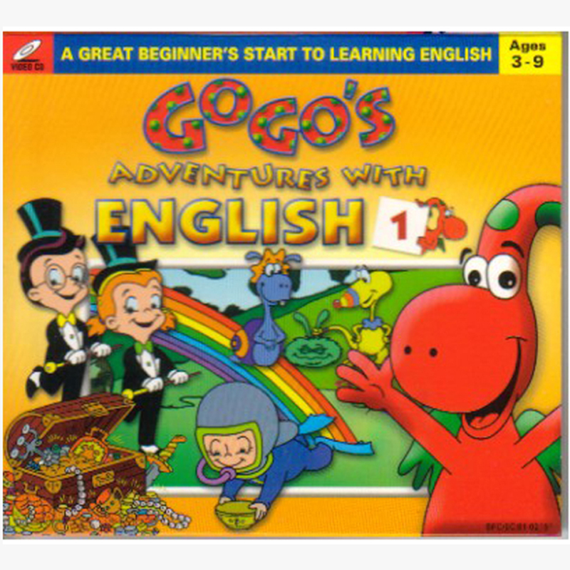 Gogo's Adventure with English - Cuộc phưu lưu của Gogo's - 6 VCD