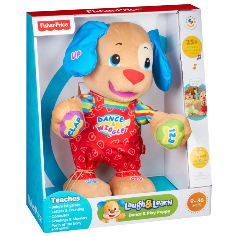 Do choi Fisher Price W4123 chu cho Pulppy biet nhay