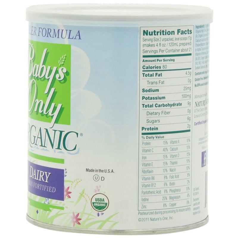 Sua sieu sach Baby's Only Organic 360g so 1