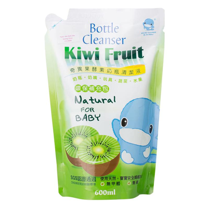 Nước rửa bình sữa bằng trái Kiwi kuku 1081 (bịch)