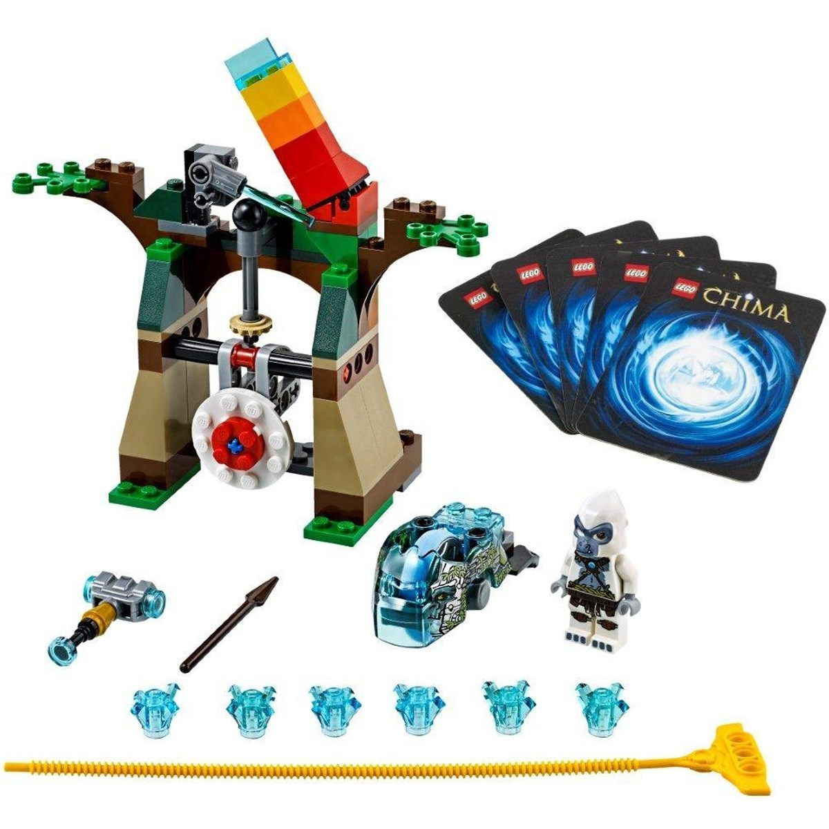 do choi lego chima 70110