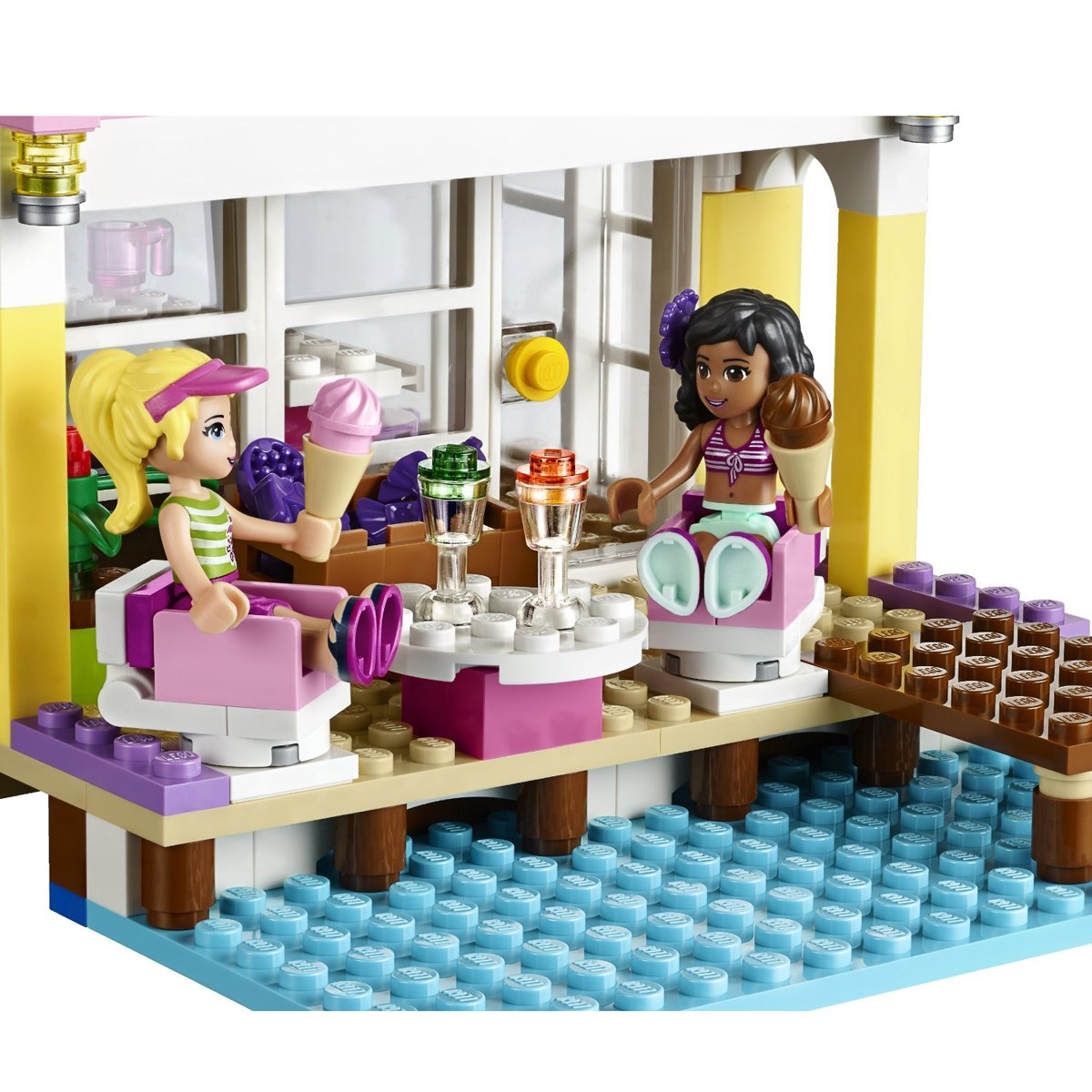 Do choi LEGO Friends 41037 - Nha Bai Bien Cua Stephanie
