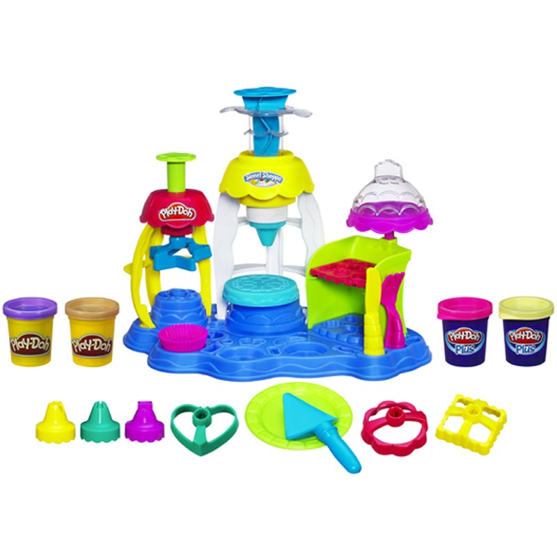 Do choi Play-Doh Tiem banh vui ve
