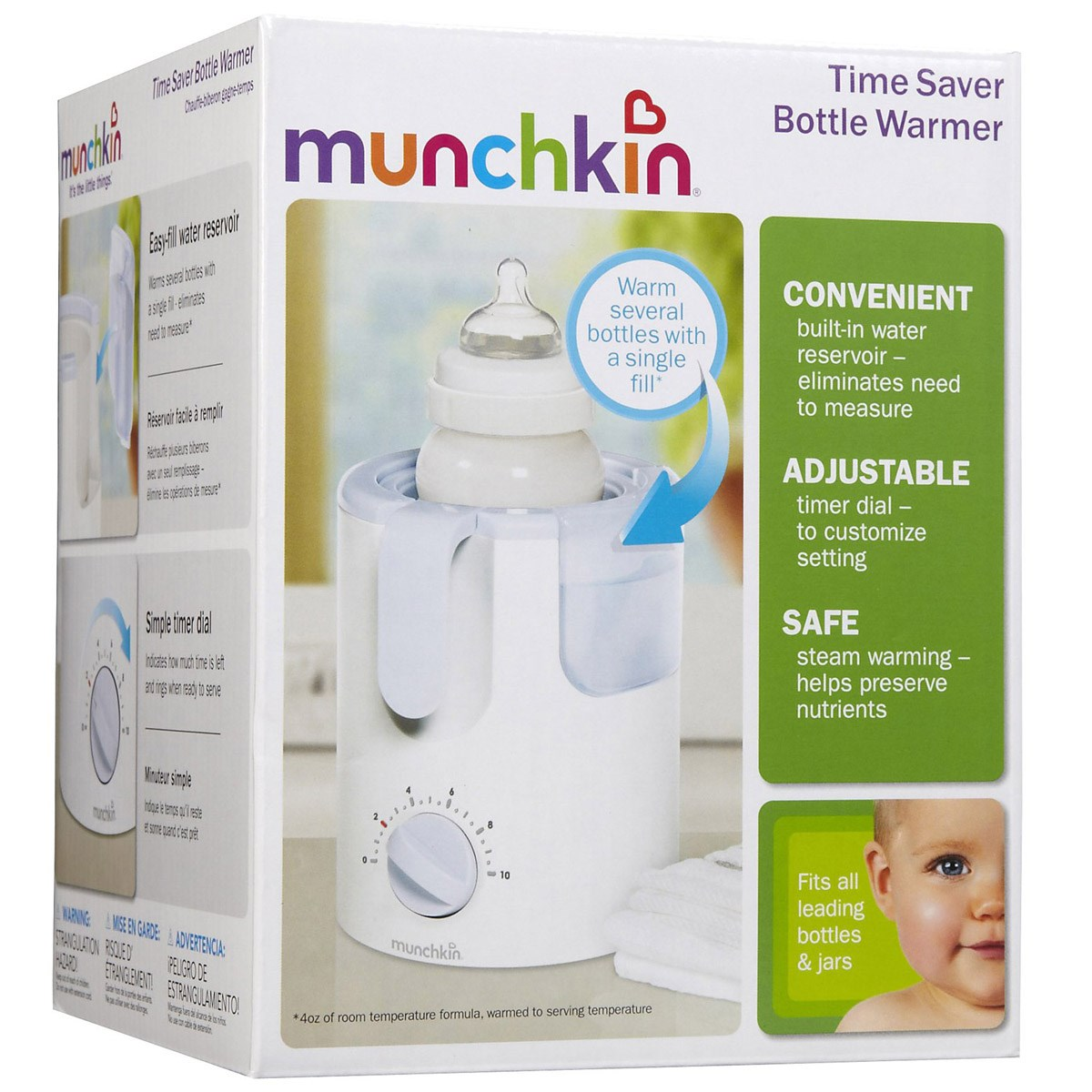 May ham nong binh sua Munchkin Time Saver Bottle Warmer
