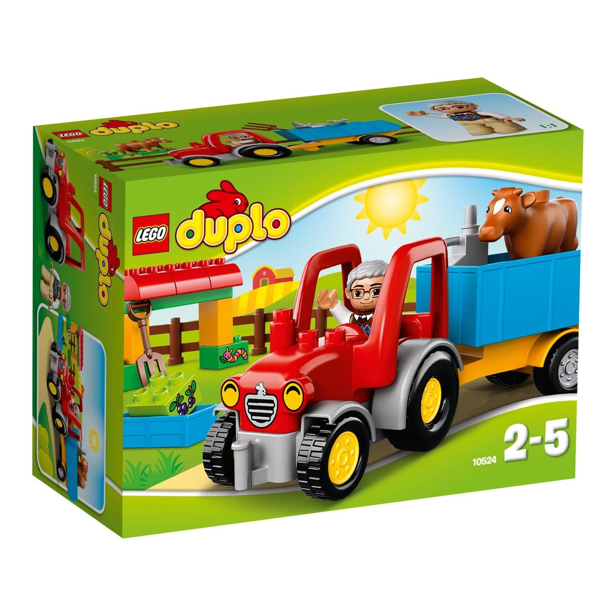 Đồ chơi Lego Duplo 10524 - Xe kéo nông trại