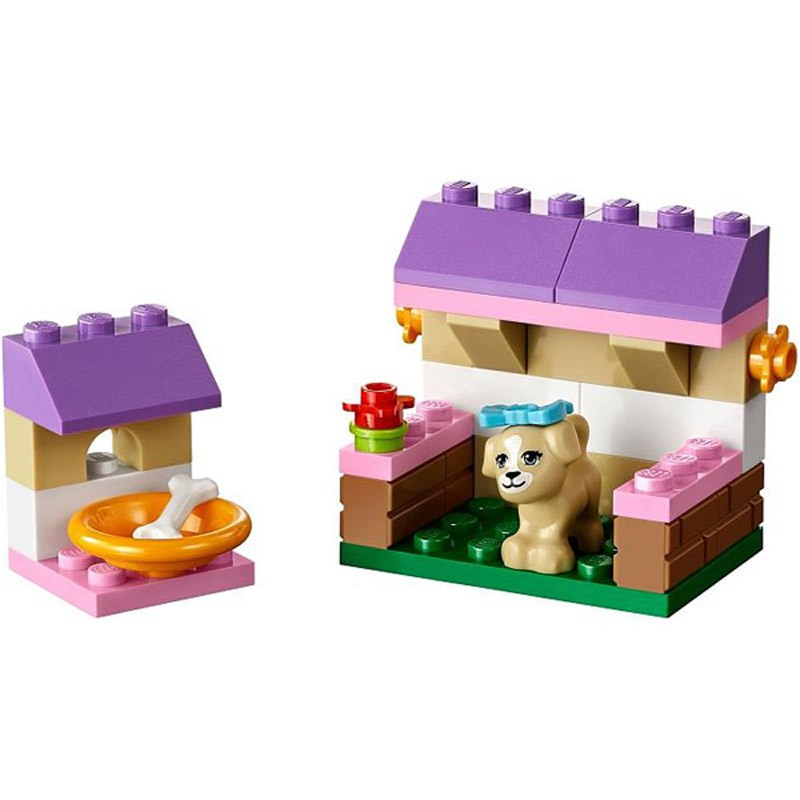 Do choi LEGO Friends 41025 - Nha Choi Cho Cun Con