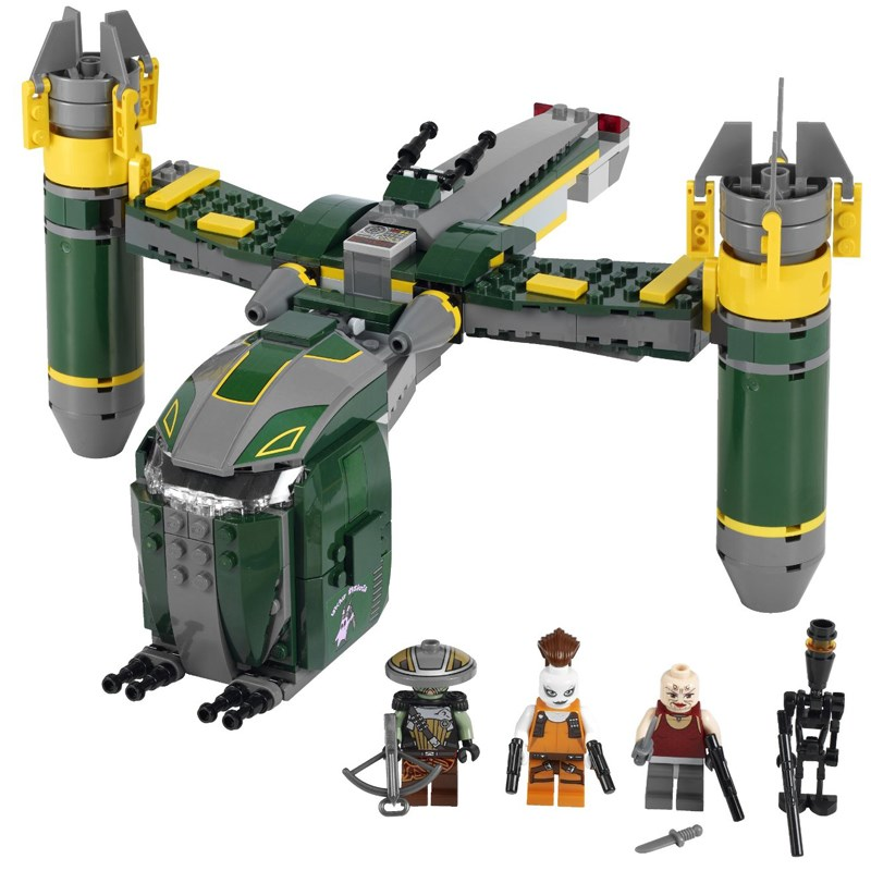 Do choi Lego Star Wars 7930 - Phao dai bay tan cong