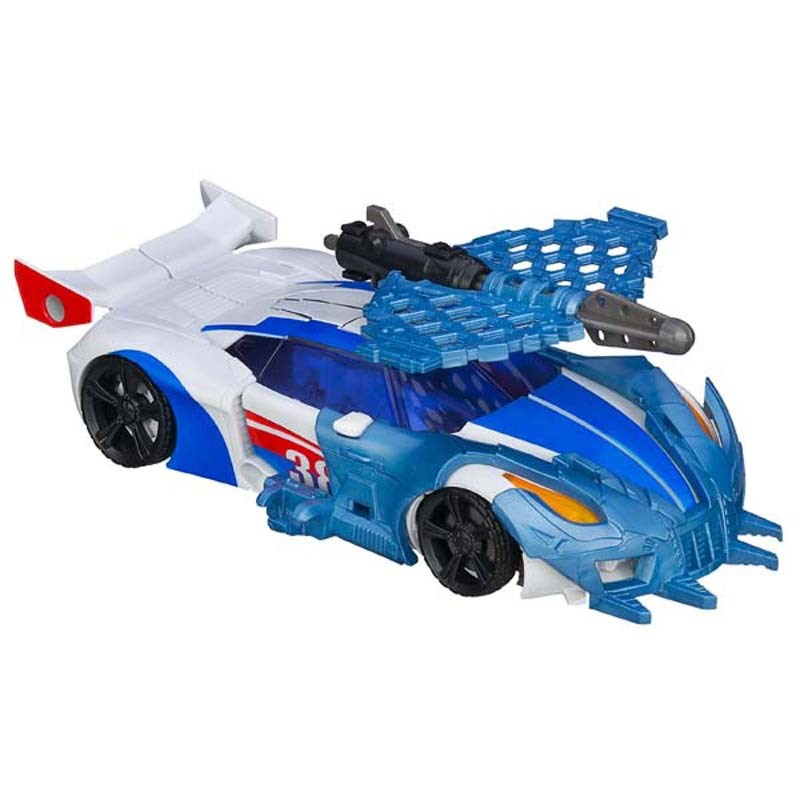 Do choi Transformer - Robot bien hinh Smokescreen Deluxe