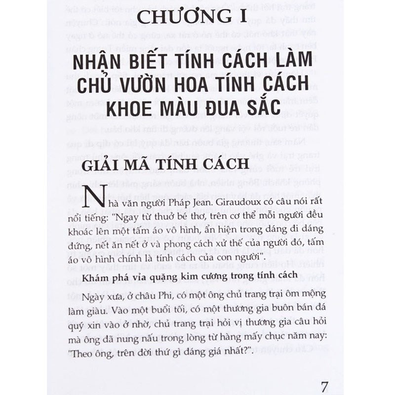 Tinh cach quyet dinh so phan