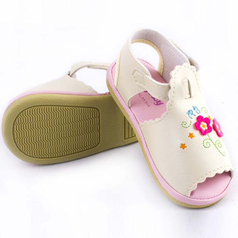 Dep sandal cho be gai Royale Baby 021-413