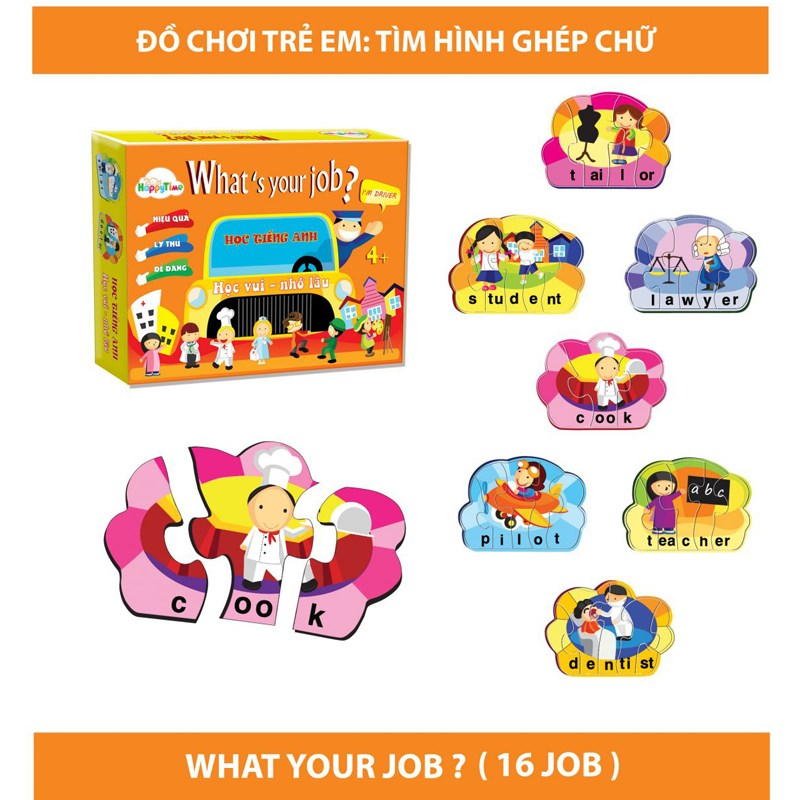 Tro choi giao duc What's your Job?