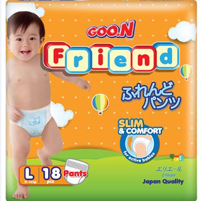 Tã - bỉm quần Goon Friend L18 (9-14kg)