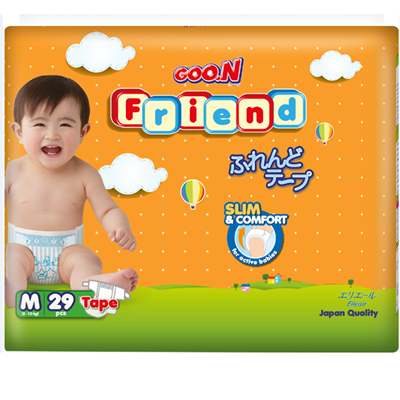 Tã - bỉm dán Goon Friend M29 (5-10kg)