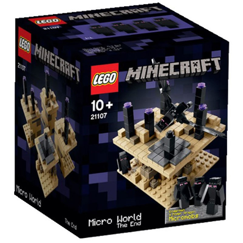 Do choi LEGO 21107 - The Gioi Minecraft