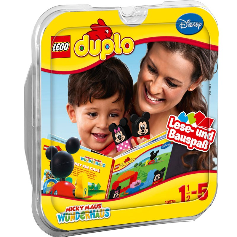 Do choi LEGO Duplo 10579 - Lap rap va ke chuyen cung Mickey