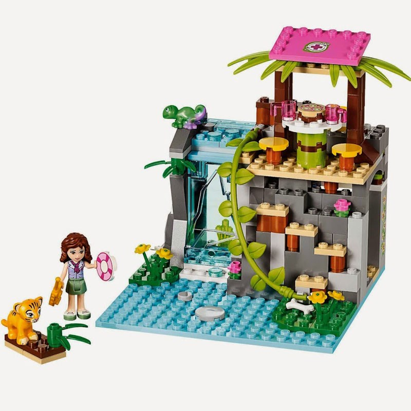 Do choi LEGO Friends 41033 - Cuu ho tai thac nuoc