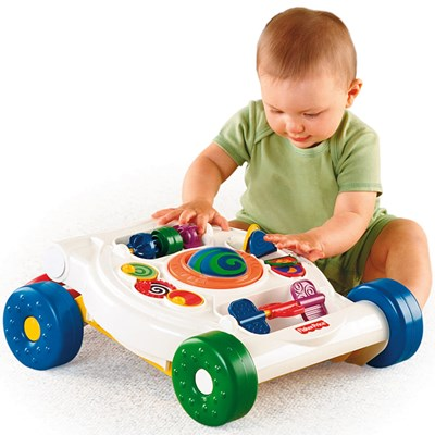 Xe tập đi Fisher Price Bright Beginnings Activity Walker K9875