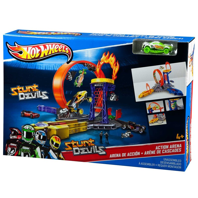Hot Wheels X9630 – Cuoc doi dau ngoan muc