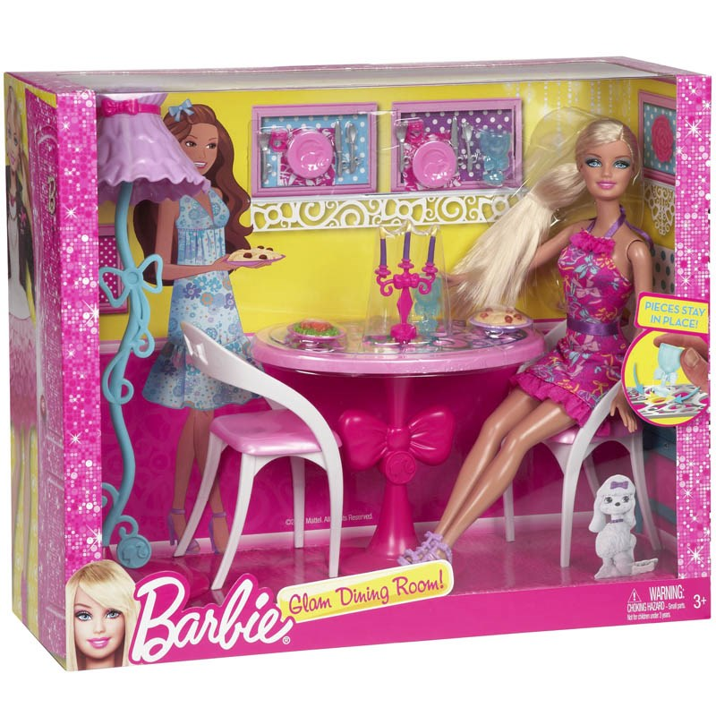 Tiec toi lang man Barbie X7942