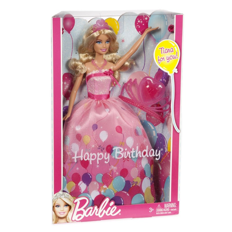 Bup be Barbie W2862 - Cong chua sinh nhat